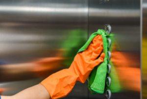 higienização de ambientes