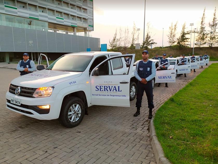 empresa de segurança serval